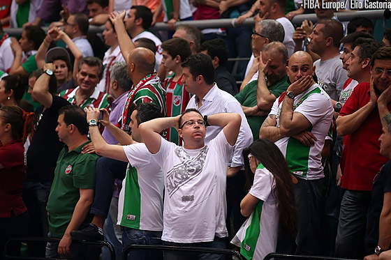 Pinar Karsiyaka fans suffering with their team
